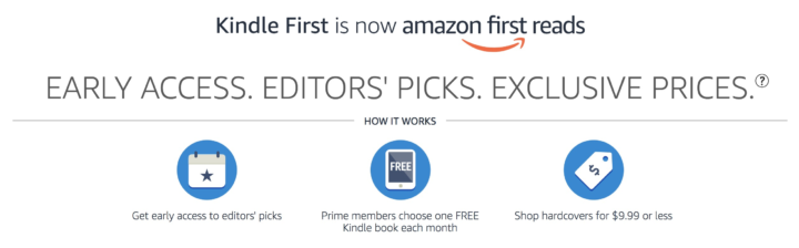 Amazon First Reads April 2019 Selections 1 Book Free For Amazon Prime Members Hello Subscription