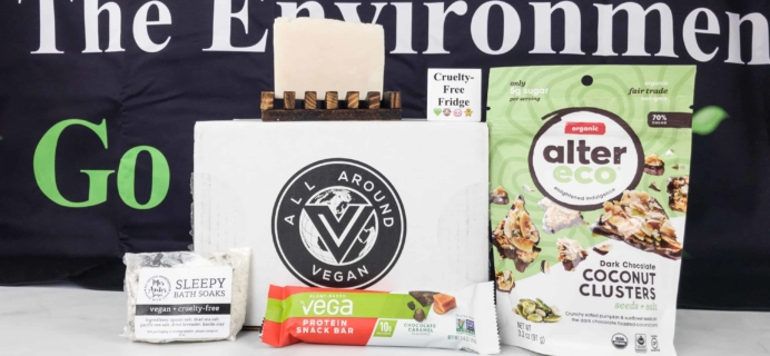 All Around Vegan Box April 2018 Subscription Box Review + Coupon