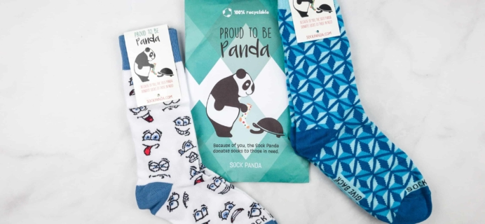 Sock Panda Tweens March 2018 Subscription Review + Coupon