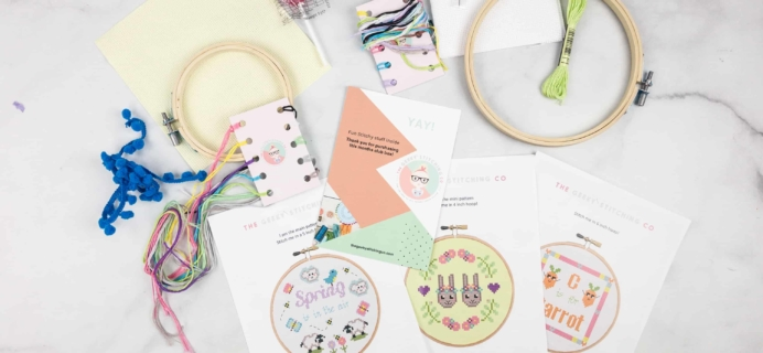 The Geeky Stitching Club March 2018 Subscription Box Review