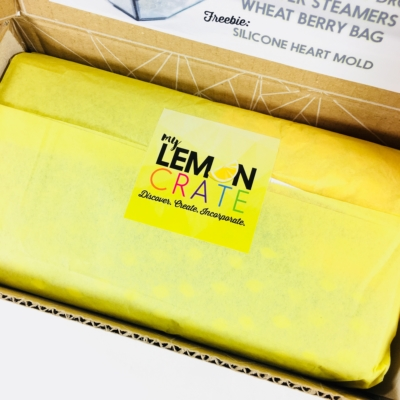 My Lemon Crate April 2018 Subscription Box Review + Coupon