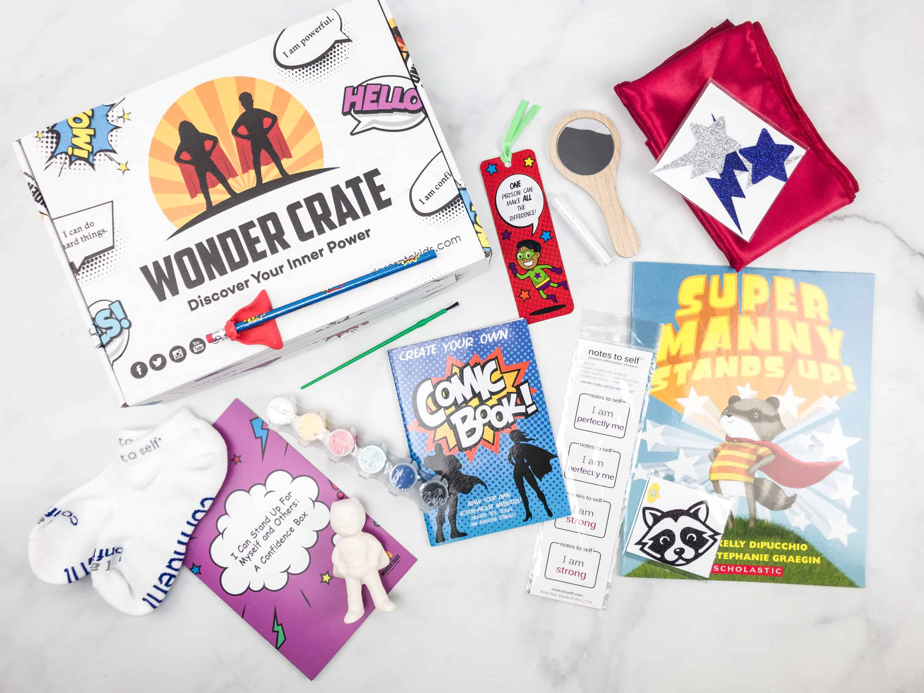 Wonder Crate Confidence Box Review + Coupon!