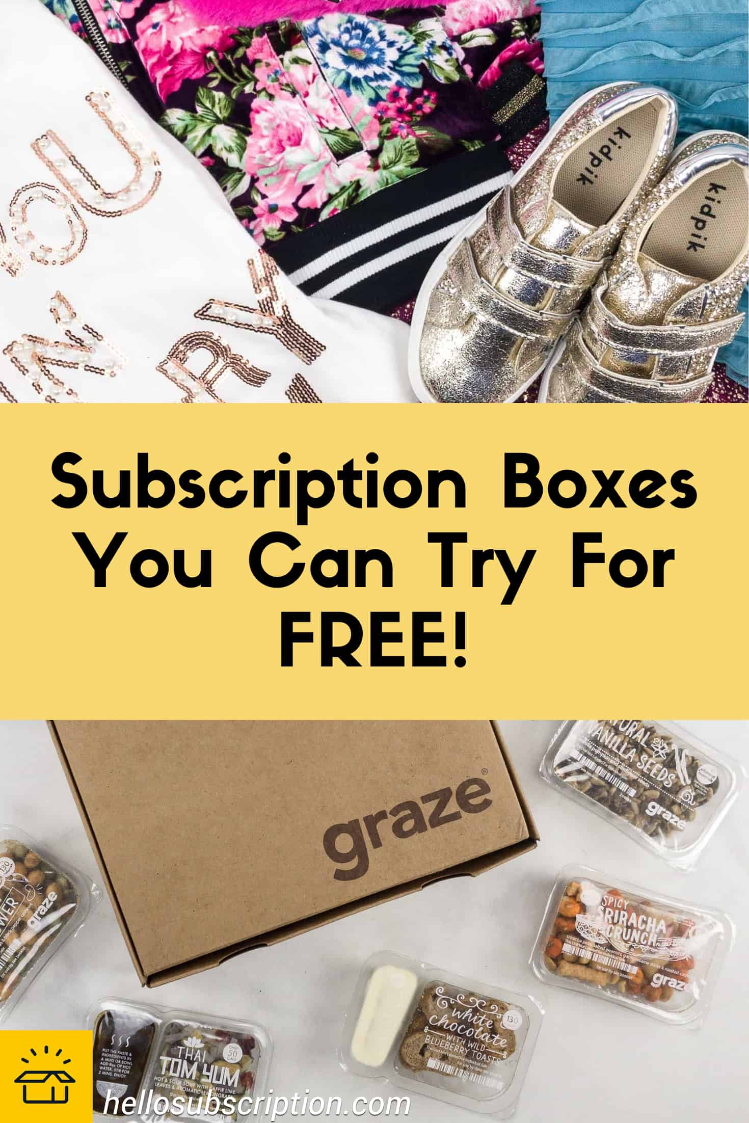 FREE Subscription Boxes Cheap Monthly Subscriptions & More