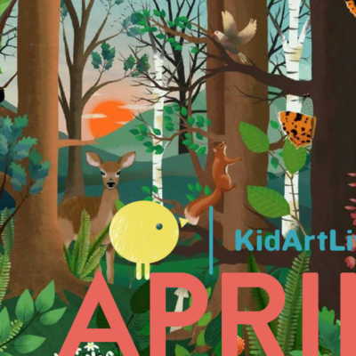 KidArtLit April2018 Spoiler + Coupon!