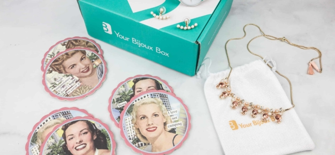 Your Bijoux Box April 2018 Subscription Box Review + Coupon