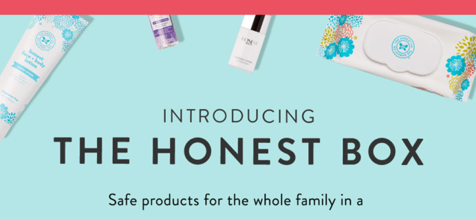 The Honest Box By The Honest Company Available Now!