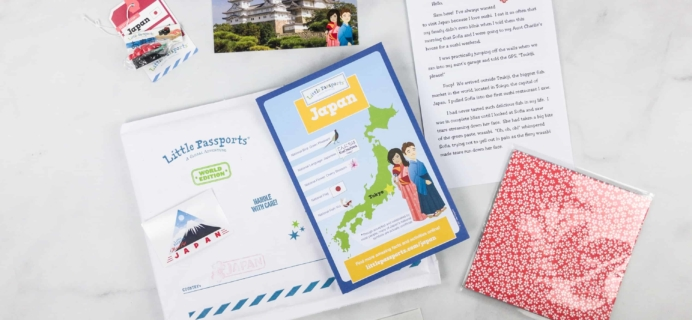 Little Passports World Edition Subscription Box Review + Coupon – JAPAN