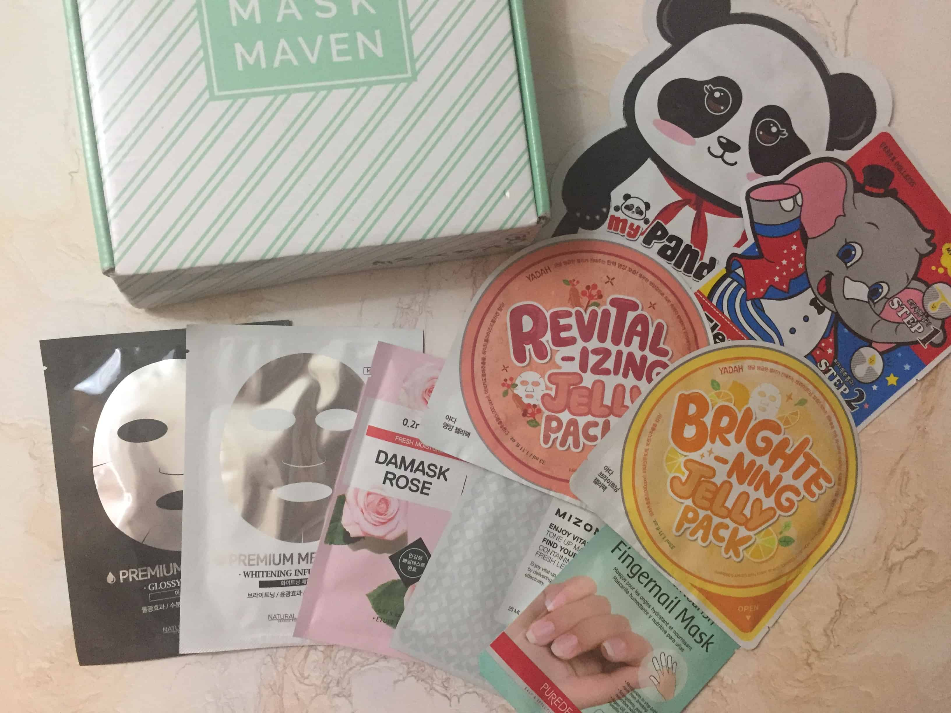 Beauteque Mask Maven March 2018 Subscription Box Review + Coupon