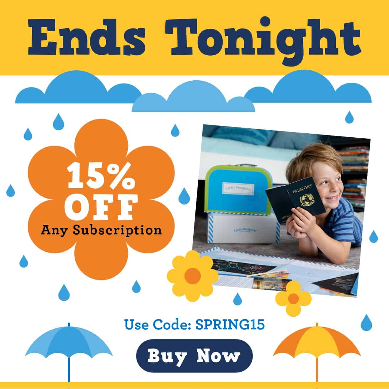 Little Passports Spring Sale: Save 15% Off Any Subscription! LAST DAY!