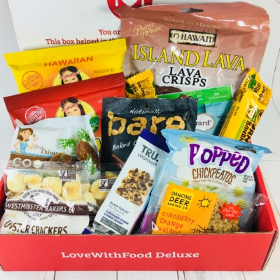 Love With Food Deluxe Box April  2018 Subscription Box Review + Coupon