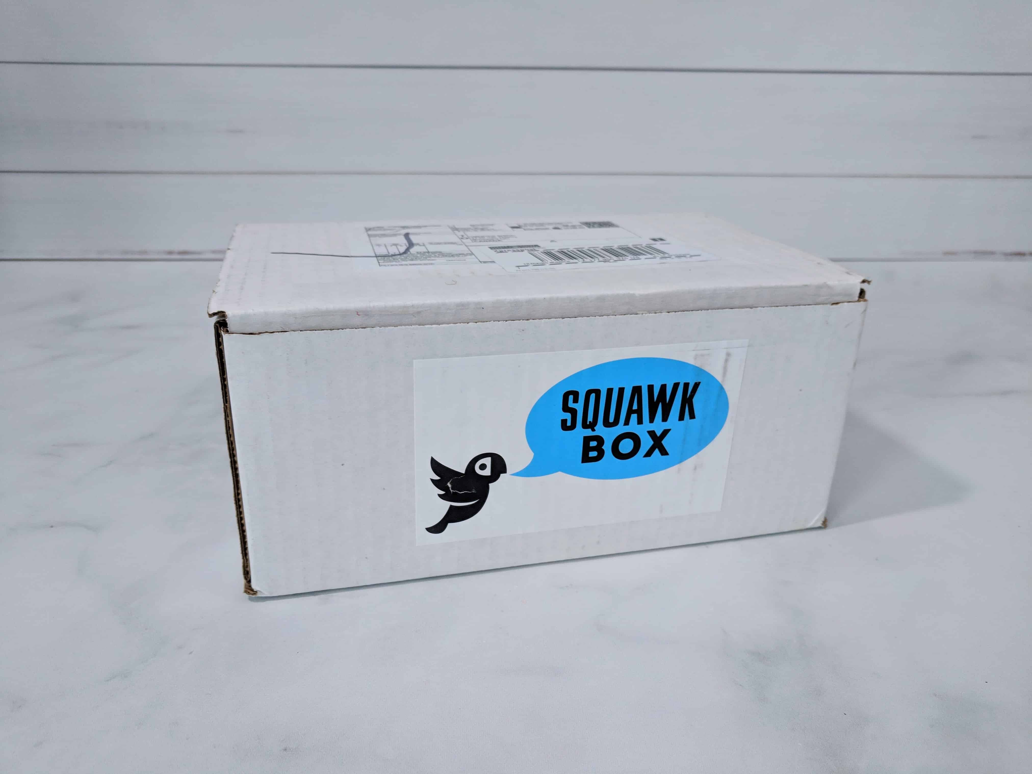 Squawk Box Subscription Review – April 2018