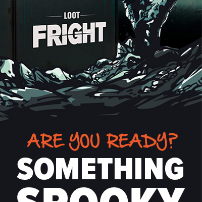 Loot Fright Coming Soon: New Horror Subscription Box by Loot Crate!