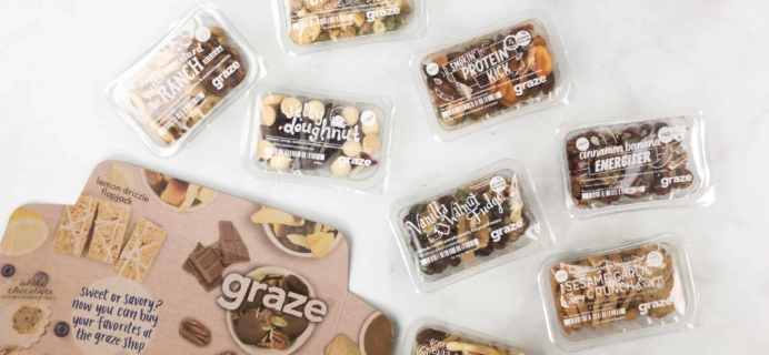 Graze Variety Box Review & Free Box Coupon – April 2018