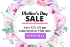 Cozy Reader Club Mother's Day Deal: Save 15% On Any Subscription!