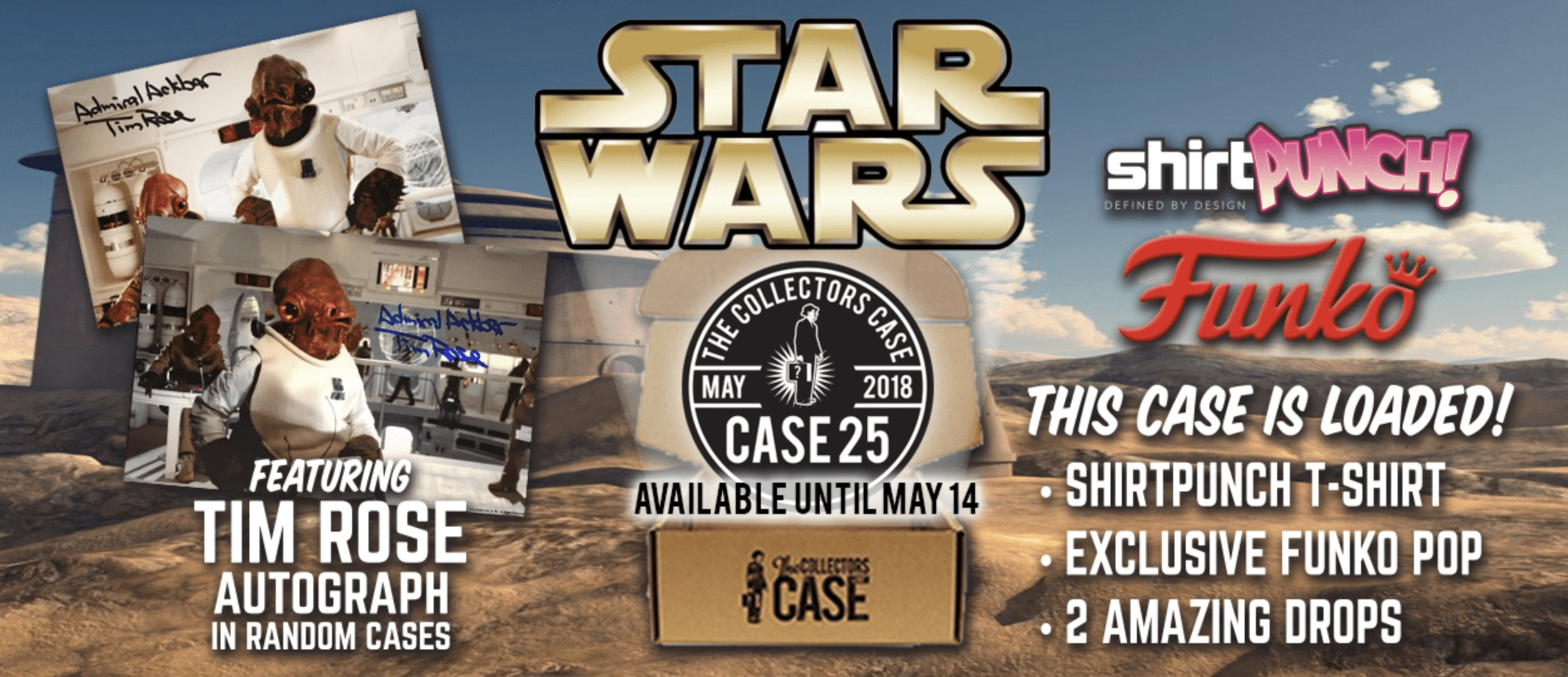 The Collectors Case May 2018 Spoilers!