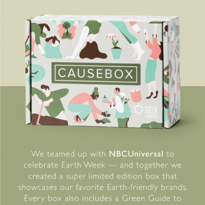 CAUSEBOX Limited Edition Earth Week Box Available Now + FULL Spoilers!