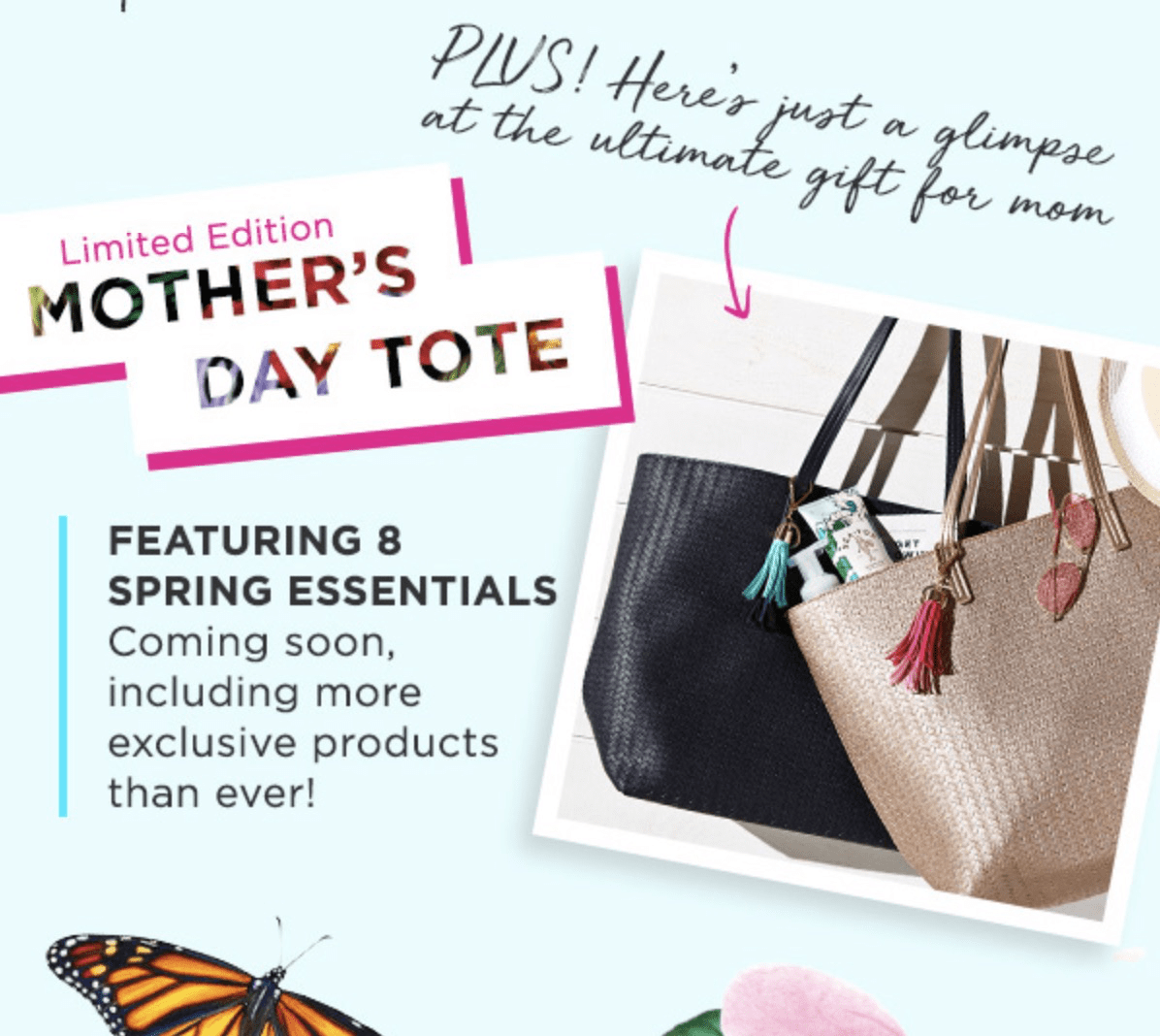 Bath Body Works Spring 2018 Vip Tote Coming Soon Hello Subscription