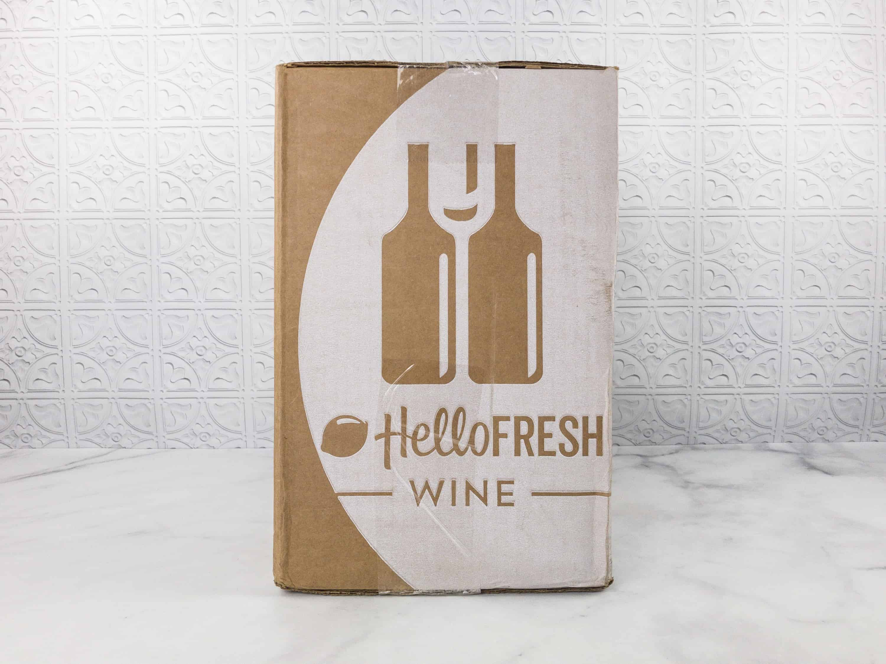 Hello Fresh Wine Is A Monthly Subscription To Premium Wines