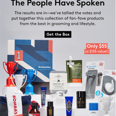 New Birchbox Man Limited Edition Box: All Stars + Coupons!