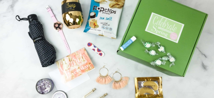 Rebecca Mail Deluxe Lifestyle Quarterly Subscription Box Review – Spring 2018