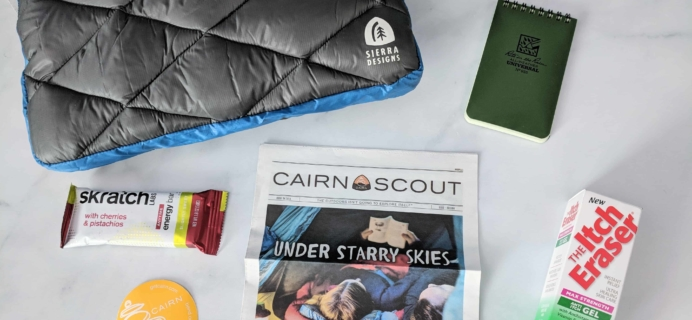Cairn April 2018 Subscription Box Review + Coupon