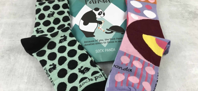 Sock Panda April 2018 Subscription Review + Coupon – Women's