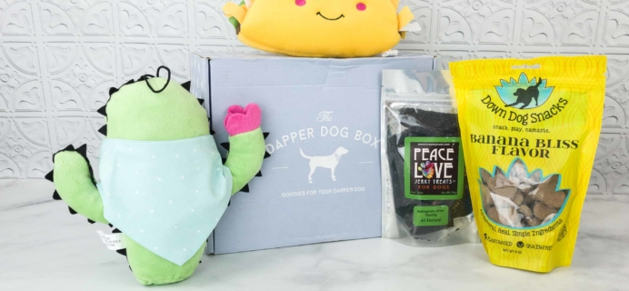 The Dapper Dog Box April 2018 Subscription Box Review + Coupon