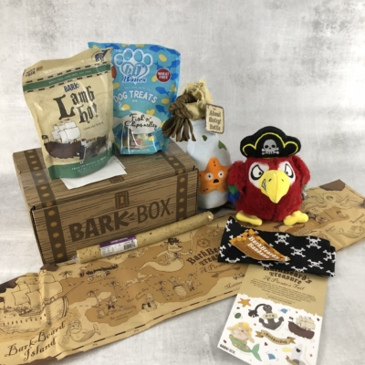 Barkbox April 2018 Subscription Box Review + Coupon – Large Dog