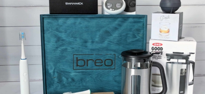 Breo Box Subscription Box Review + Coupon – Spring 2018
