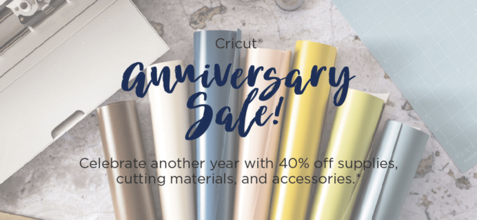 Cricut Memorial Day Sale: Save Up to 40% + Free Shipping!