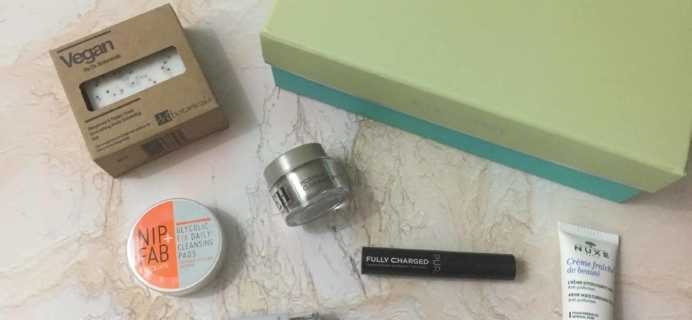 lookfantastic Beauty Box April 2018 Subscription Box Review