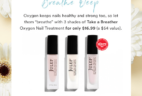 Julep Earth Day Sweet Steal: Julep Take A Breather Oxygen Nail Treatment Set Now Available!