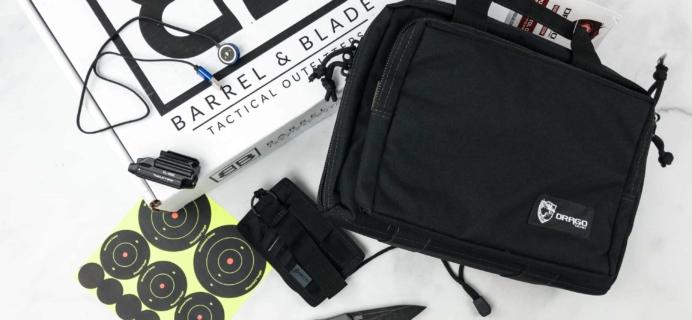 Barrel & Blade April 2018 Subscription Box Review