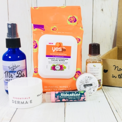 Vegan Cuts Beauty Box April 2018 Subscription Box Review
