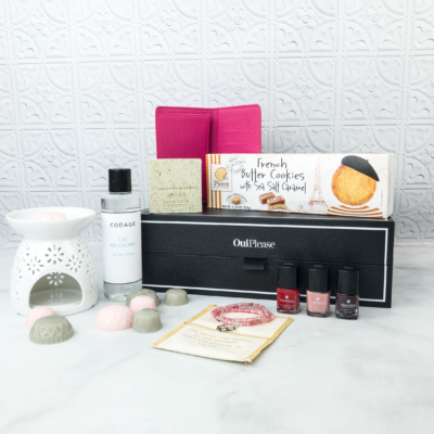 Oui Please April 2018 Subscription Box Review: Vol. 3.3 + Coupon