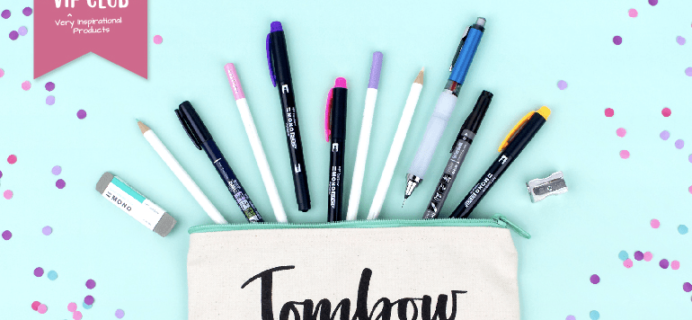 Tombow VIP Club July 2018 Box Available Now + Full Spoilers!