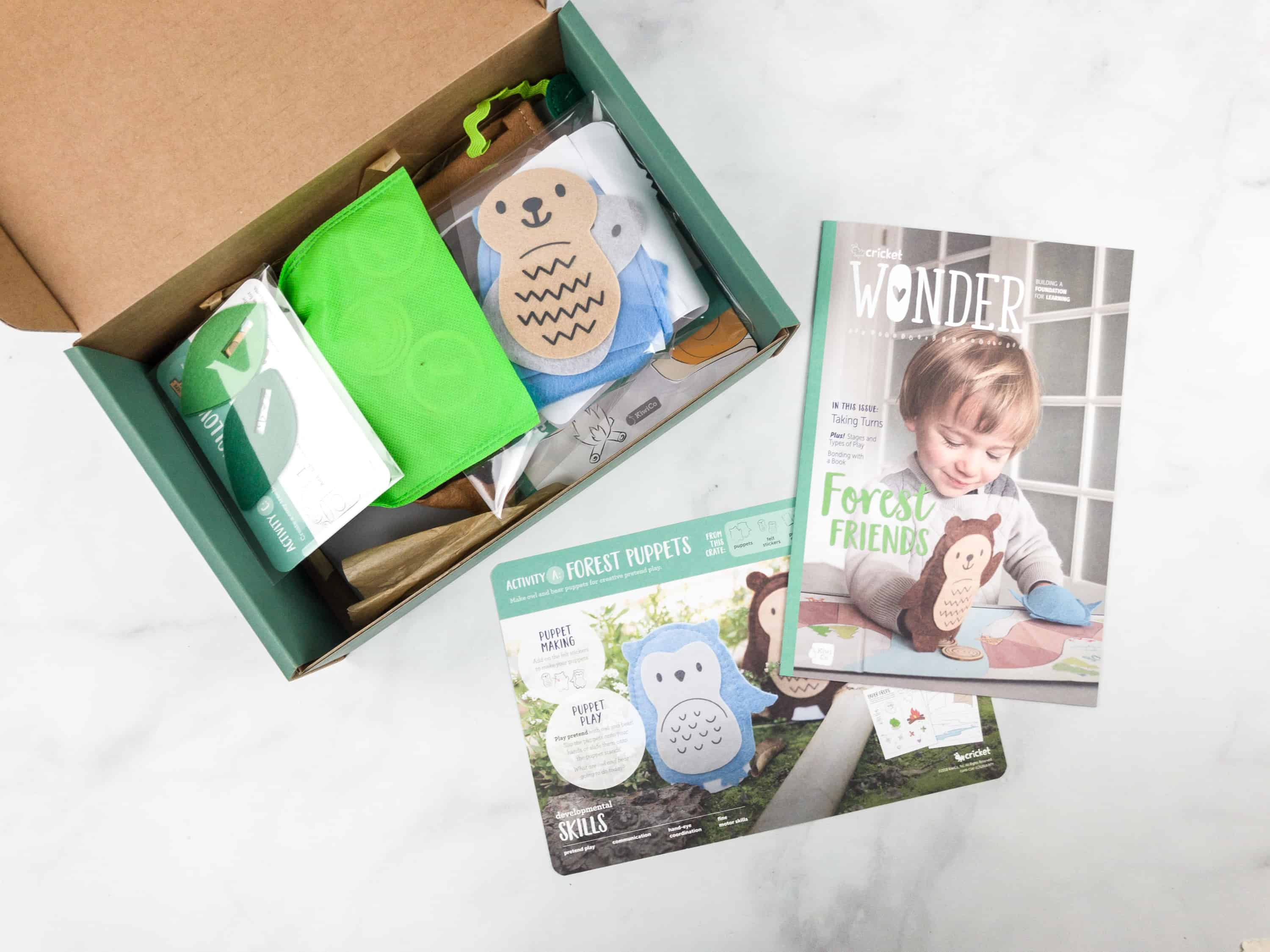 Cricket Crate April 2018 Subscription Box Review Coupon Forest