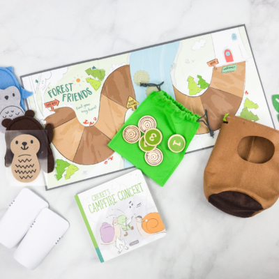 Cricket Crate April 2018 Subscription Box Review + Coupon! – Forest Friends