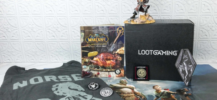Loot Gaming March 2018 Subscription Box Review & Coupon