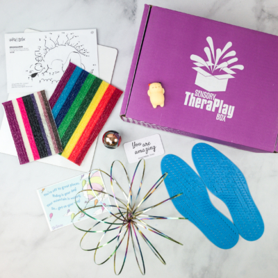 Sensory TheraPLAY Box April 2018 Subscription Box Review + Coupon
