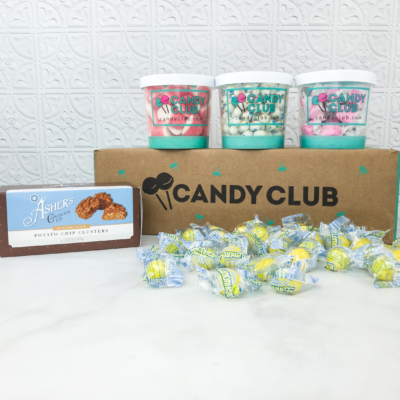 Candy Club Subscription Box Review + 50% off Coupon – April 2018