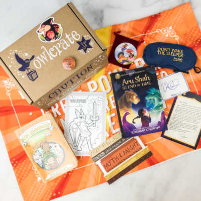 OwlCrate Jr. April 2018 Box Review & Coupon