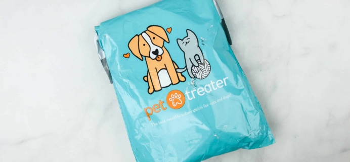 Pet Treater Dog Box Mini April 2018 Subscription Box Review + 50% Off Coupon!