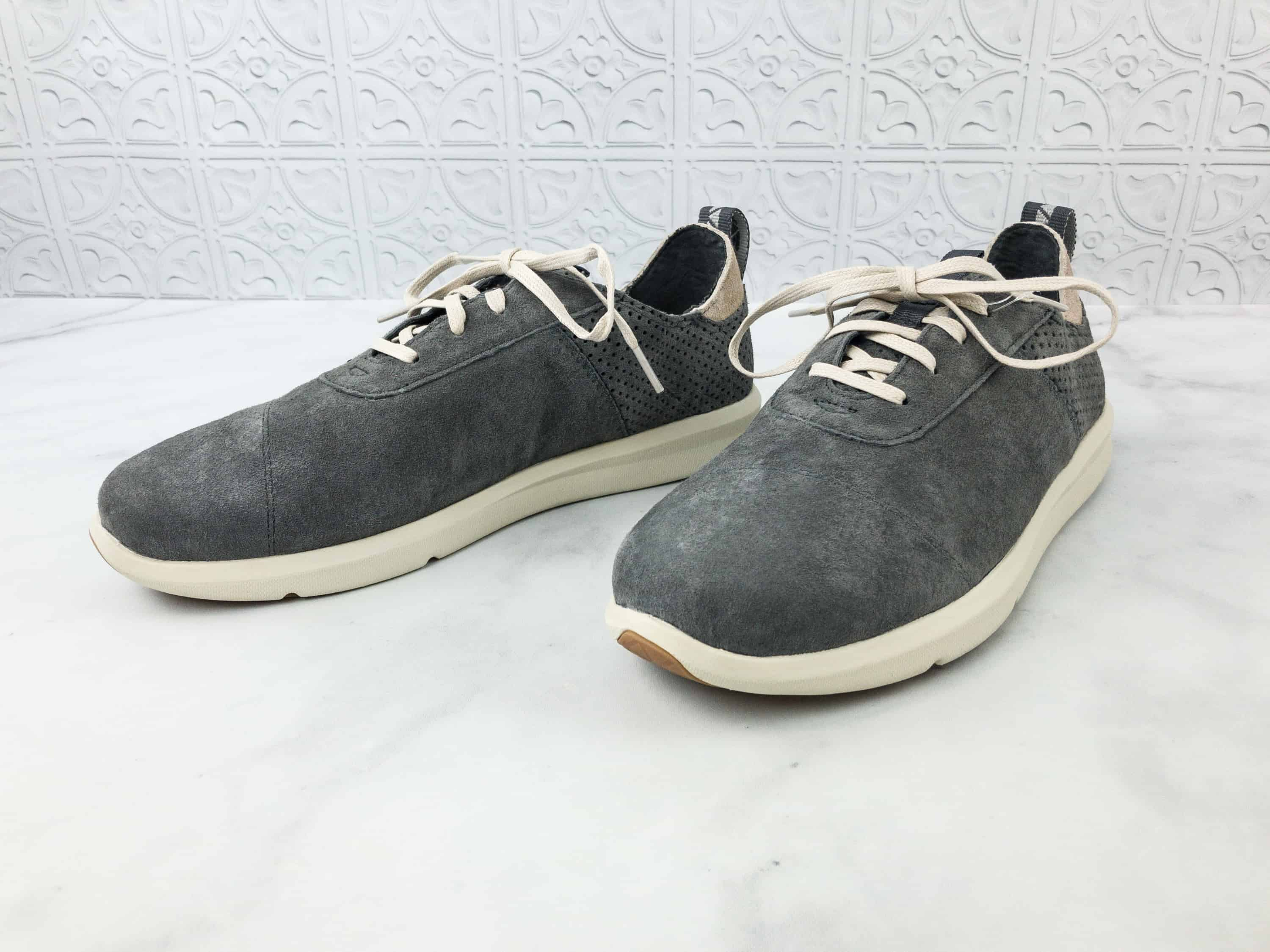 99ce976cfc3 Toms Cabrillo Perforated Suede Lace-Up Sneaker ( 85) These lace-up sneakers  are inspired by athletic wear trends – simple yet sporty with a perforated  heel ...