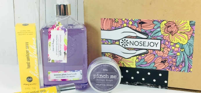 NOSEJOY April 2018 Subscription Box Review + Coupon!