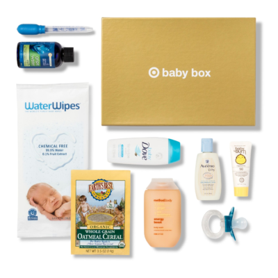 $5 April 2018 Target Baby Box Available Now!