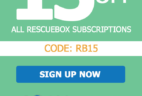 Rescue Box Sale: Get 15% Off RescueBox Subscriptions!