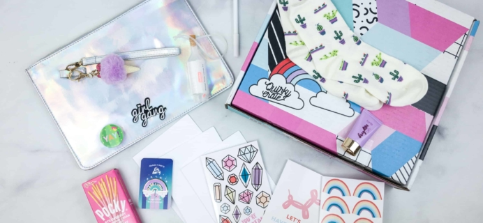 Quirky Crate April 2018 Subscription Box Review + Coupon
