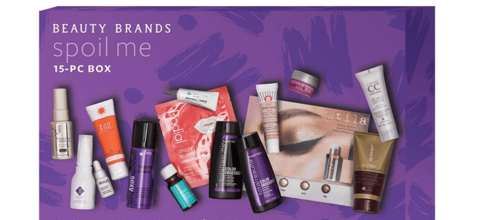Beauty Brands Spoil Me Box Available Now!