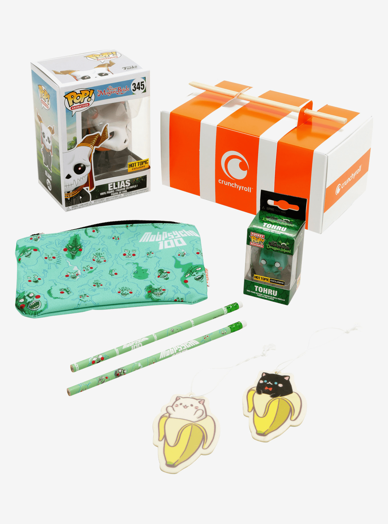 New Hot Topic Exclusive Crunchyroll Funko Collectible Box